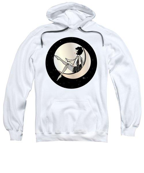 Swinging On The Moon Sweatshirt