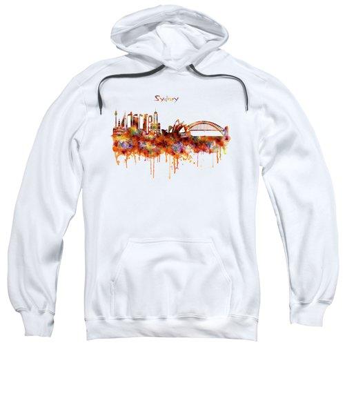Sydney Watercolor Skyline Sweatshirt
