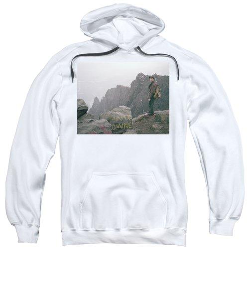 T-04701 Fred Beckey On Mt. Si 1958  Sweatshirt