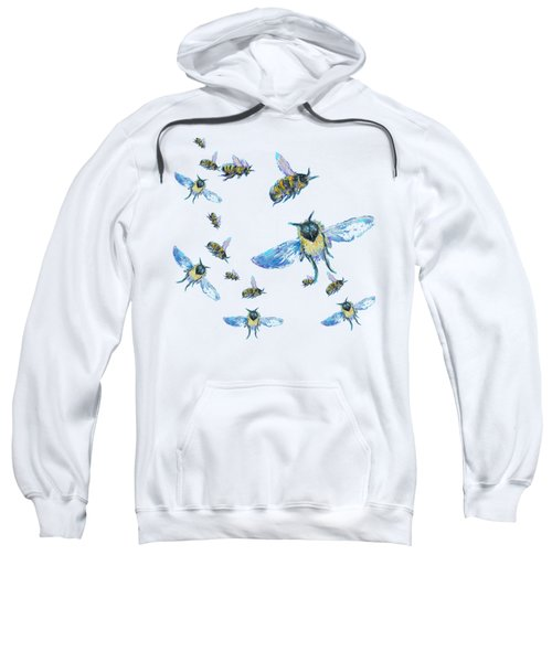 T-shirt With Bees Design Sweatshirt