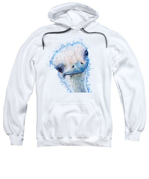 T-shirt With Emu Design Sweatshirt by Jan Matson