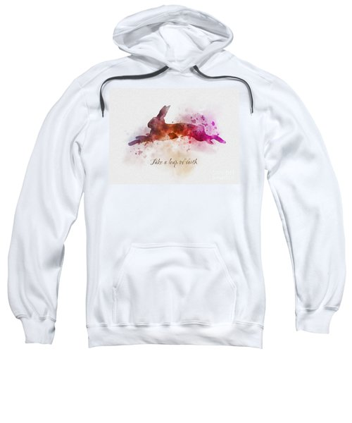Take A Leap Of Faith Sweatshirt