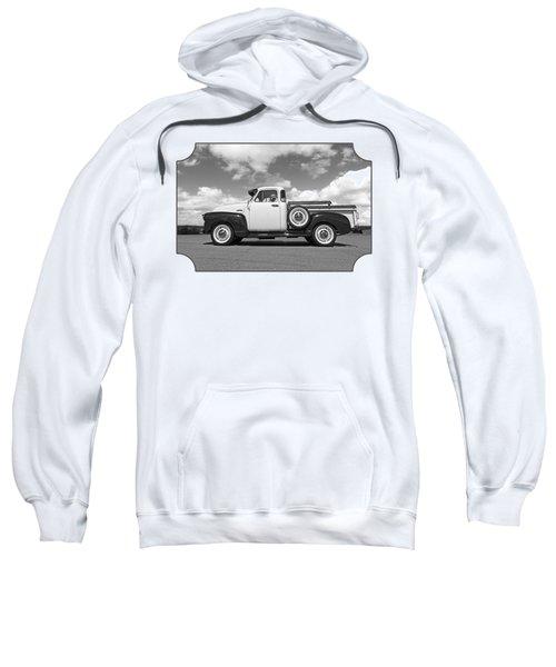 Take Me With You - Black And White Sweatshirt