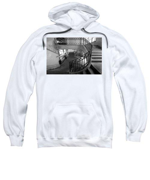 Taking A Photo Inside A Photo Sweatshirt