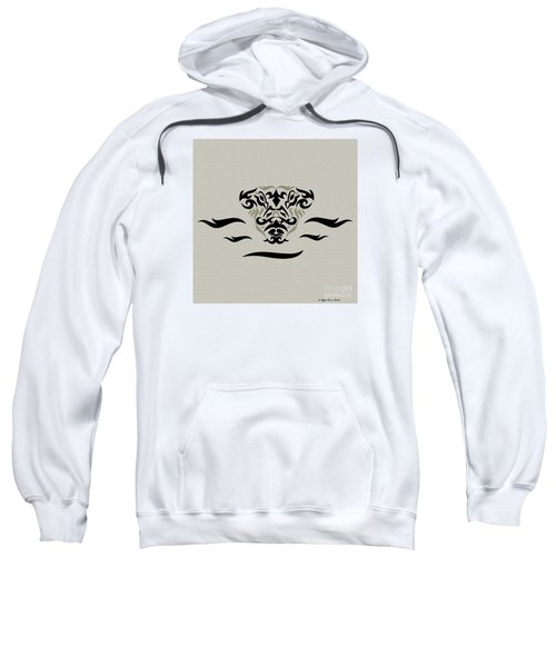 Tan Tribal Gator Sweatshirt