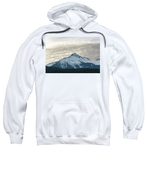 Tantalus Mountain Range Closeup Sweatshirt