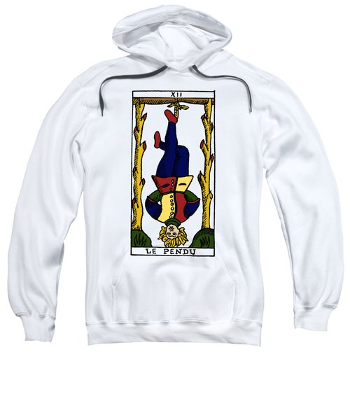 Tarot Card The Hanged Man Sweatshirt
