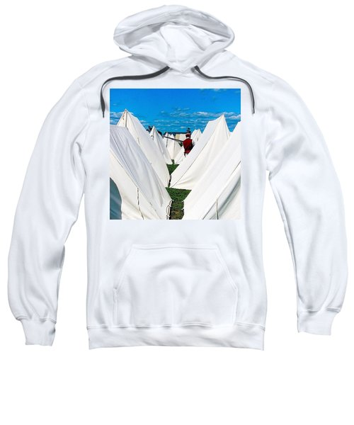 Field Of Tents Sweatshirt