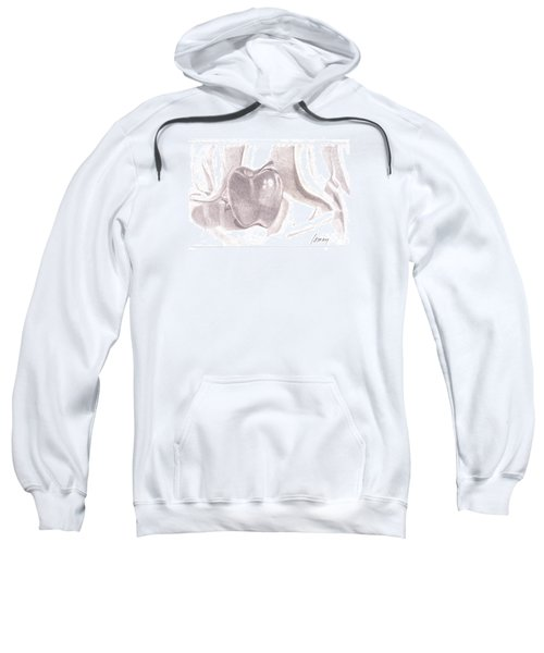 Sweatshirt featuring the drawing Teacher's Pet by Rod Ismay