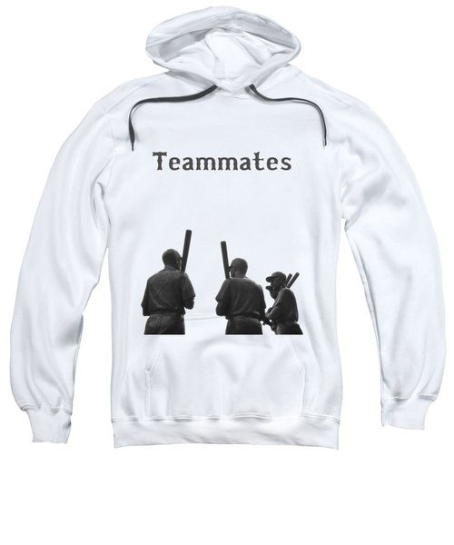 Teammates Poster - Boston Red Sox Sweatshirt by Joann Vitali
