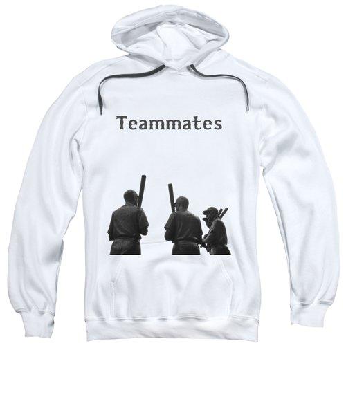 Teammates Poster - Boston Red Sox Sweatshirt