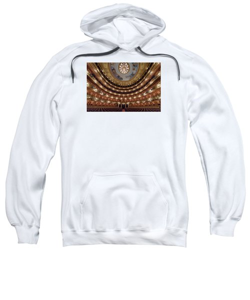 Teatro Colon Performers View Sweatshirt by Randy Scherkenbach