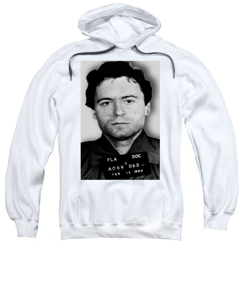 Ted Bundy Mug Shot 1980 Vertical  Sweatshirt