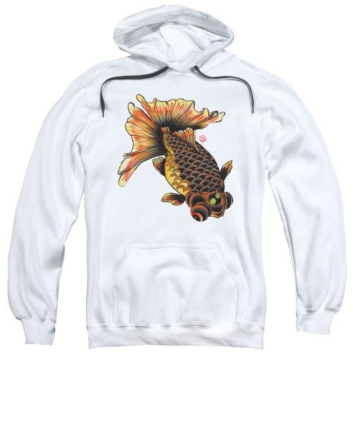 Telescope Goldfish Sweatshirt by Shih Chang Yang