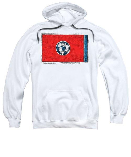 Tennessee Bathroom Flag Sweatshirt