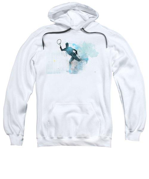 Tennis Player -19 Sweatshirt