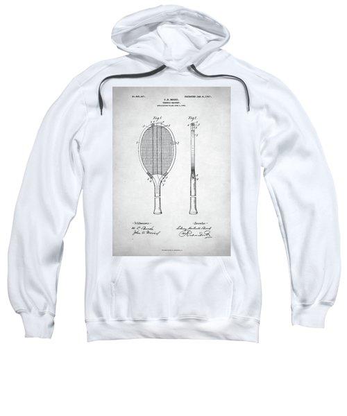 Tennis Racket Patent 1907 Sweatshirt