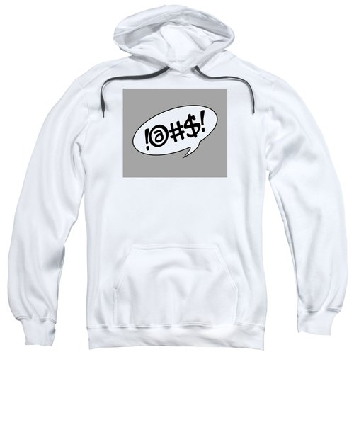 Text Bubble Sweatshirt
