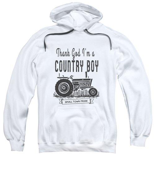 Thank God I Am A Country Boy Tee Sweatshirt