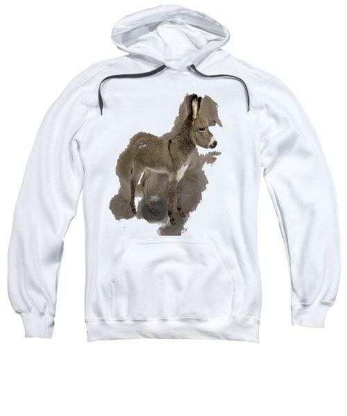 That Cute Donkey Foal In Profile Sweatshirt