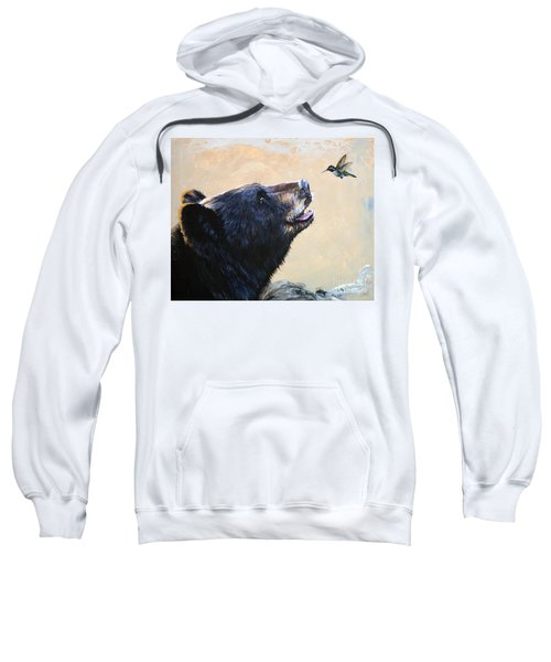 The Bear And The Hummingbird Sweatshirt