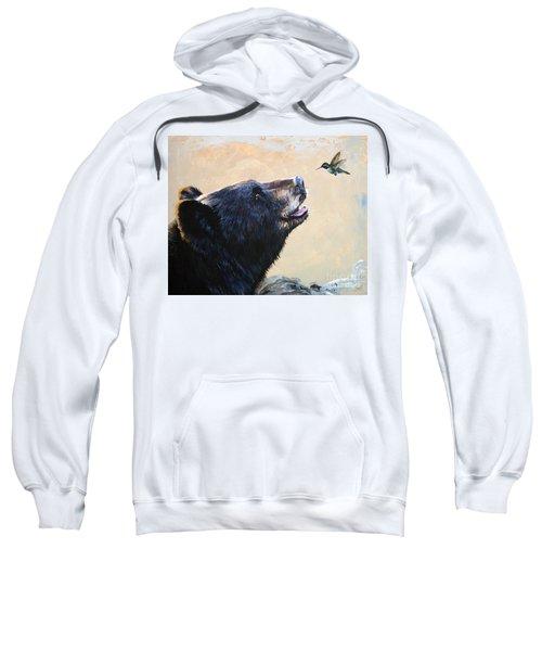 The Bear And The Hummingbird Sweatshirt