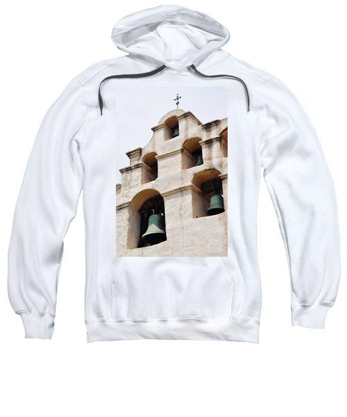 The Bells Of Mission San Gabriel Arcangel Portrait Sweatshirt