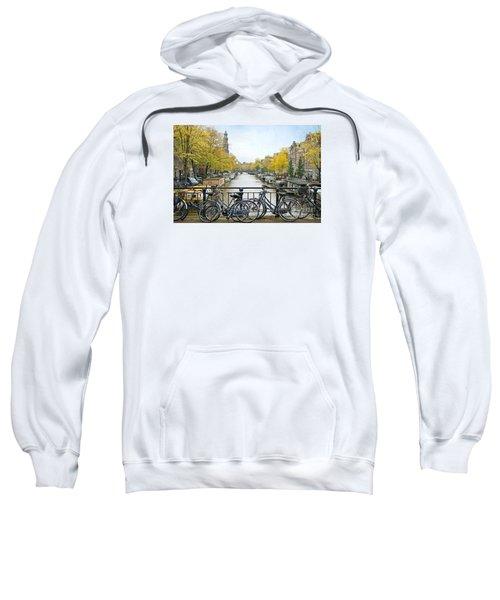 The Bicycle City Of Amsterdam Sweatshirt