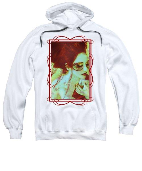 The Bleeding Dream - Self Portrait Sweatshirt by Jaeda DeWalt