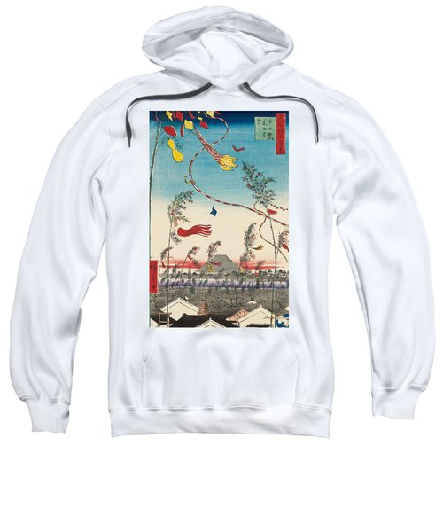 The City Flourishing, Tanabata Festival Sweatshirt