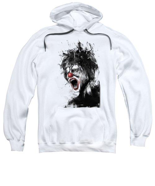 The Clown Sweatshirt by Balazs Solti