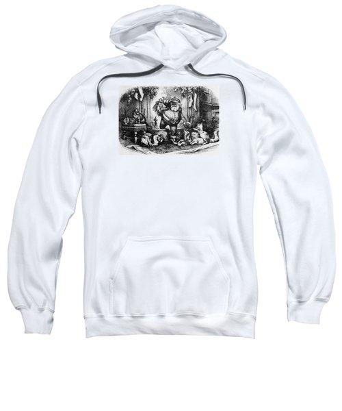 The Coming Of Santa Claus Sweatshirt