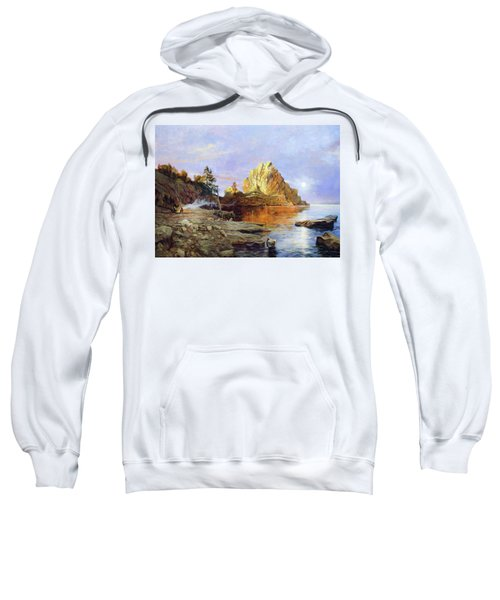 The Crest Of Rock Impressionism Sweatshirt