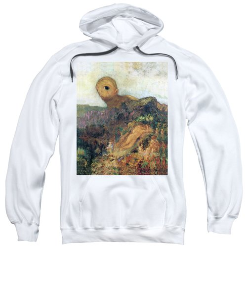 The Cyclops Sweatshirt by Odilon Redon