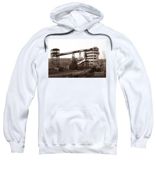 The Dorrance Coal Breaker Wilkes Barre Pennsylvania 1983 Sweatshirt