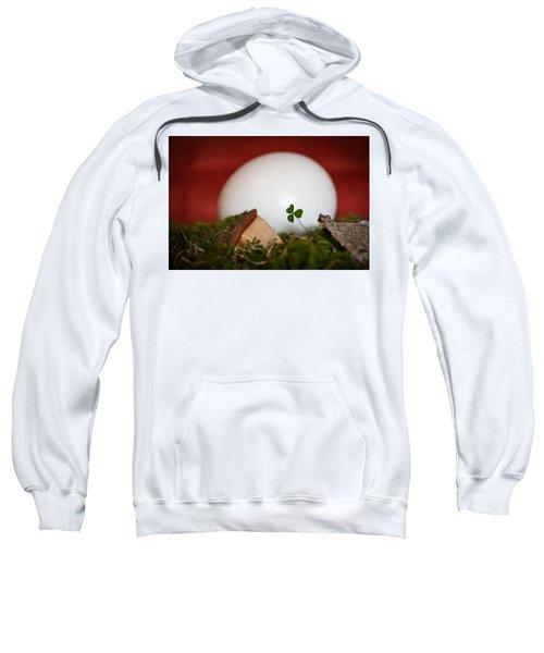 the egg - Happy Easter Sweatshirt