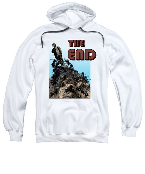 The End Sweatshirt by Joseph Juvenal