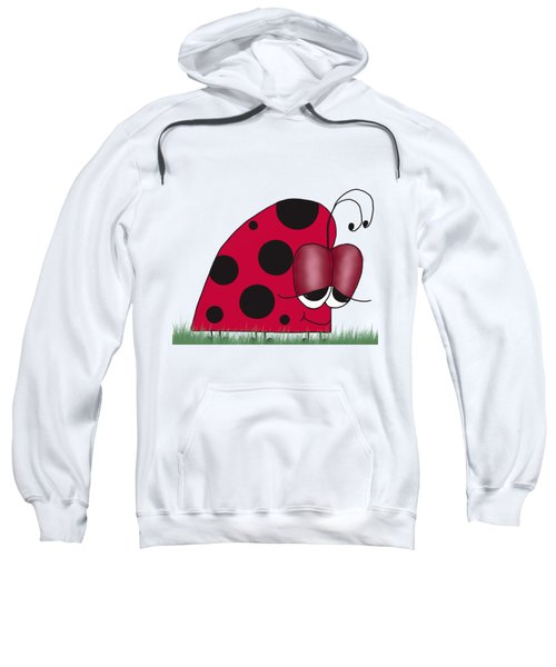 The Euphoric Ladybug Sweatshirt by Michelle Brenmark