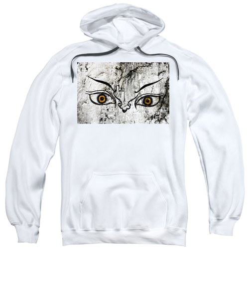 The Eyes Of Guru Rimpoche  Sweatshirt