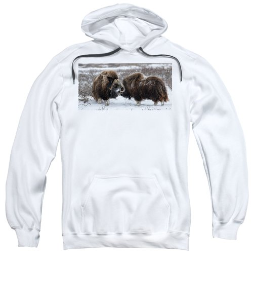 The Face Off  Sweatshirt