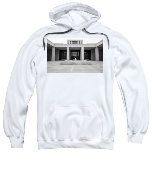 The George W. Bush Presidential Library And Museum  Sweatshirt by Robert Bellomy