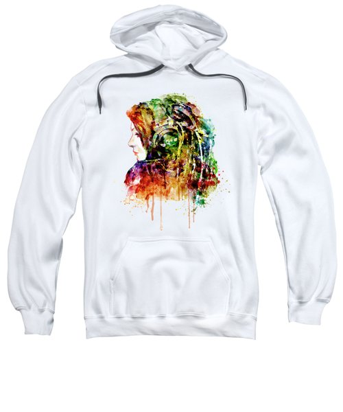 The Girl Is A Dj Sweatshirt