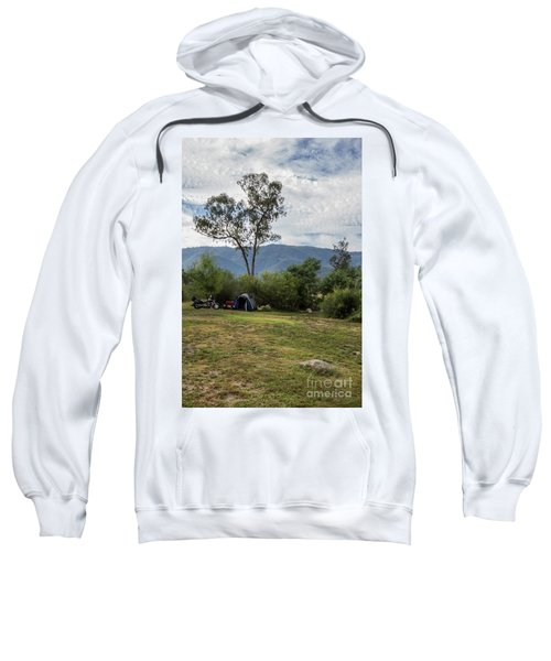 Sweatshirt featuring the photograph The Good Life by Linda Lees