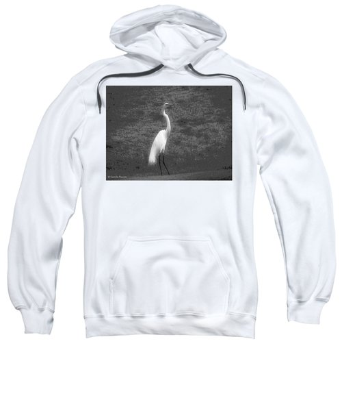 The Great Egret Sweatshirt