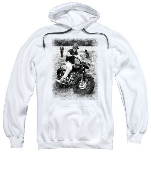 The Great Escape Sweatshirt by Mark Rogan