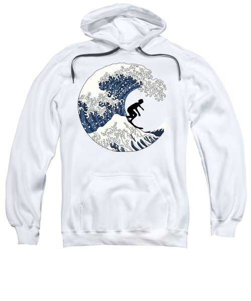 The Great Surfer Off Kanagawa Sweatshirt