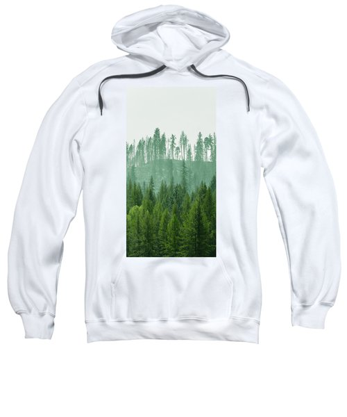 The Green And The Not So Green Sweatshirt