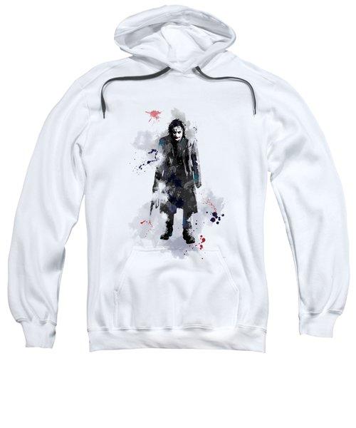 The Joker Sweatshirt by Marlene Watson