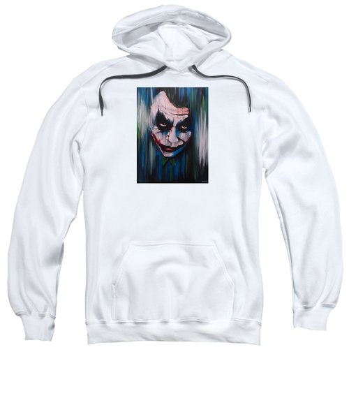 The Joker Sweatshirt by Michael Walden