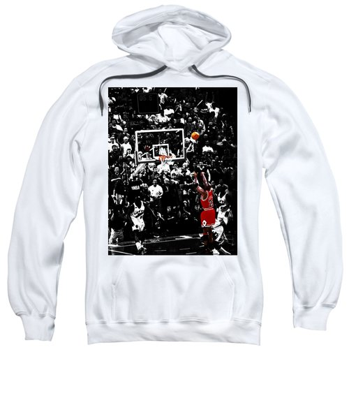 The Last Shot 23 Sweatshirt by Brian Reaves